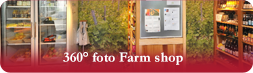 Farm shop (360° photo)
