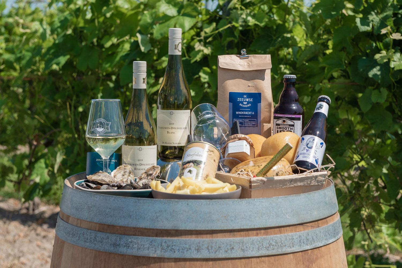 de grote schorre wijnbox